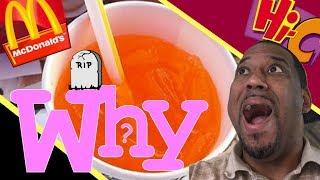 McDonalds HiC Orange lavaburst discontinued The Shocking Truth Behind America's Drink