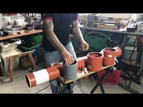 Luftheber 110mm Mit Druckdose Youtube