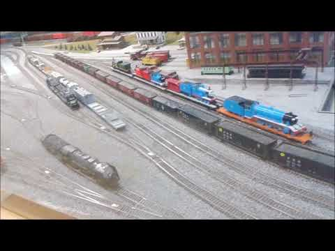 Medina Railroad Museum (BACK TO THE) Train Show