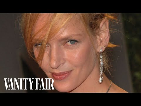 Uma Thurman - The Secrets to Her Unique Fashion & Style on Vanity Fair Hollywood Style Star