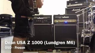 esp viper baritone emg vs dean usa z 1000 lundgren m6
