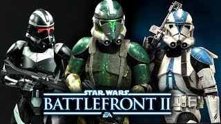 Legendary and Epic Clone Trooper Skins We Want for the Clone Wars DLC! - Star Wars Battlefront 2