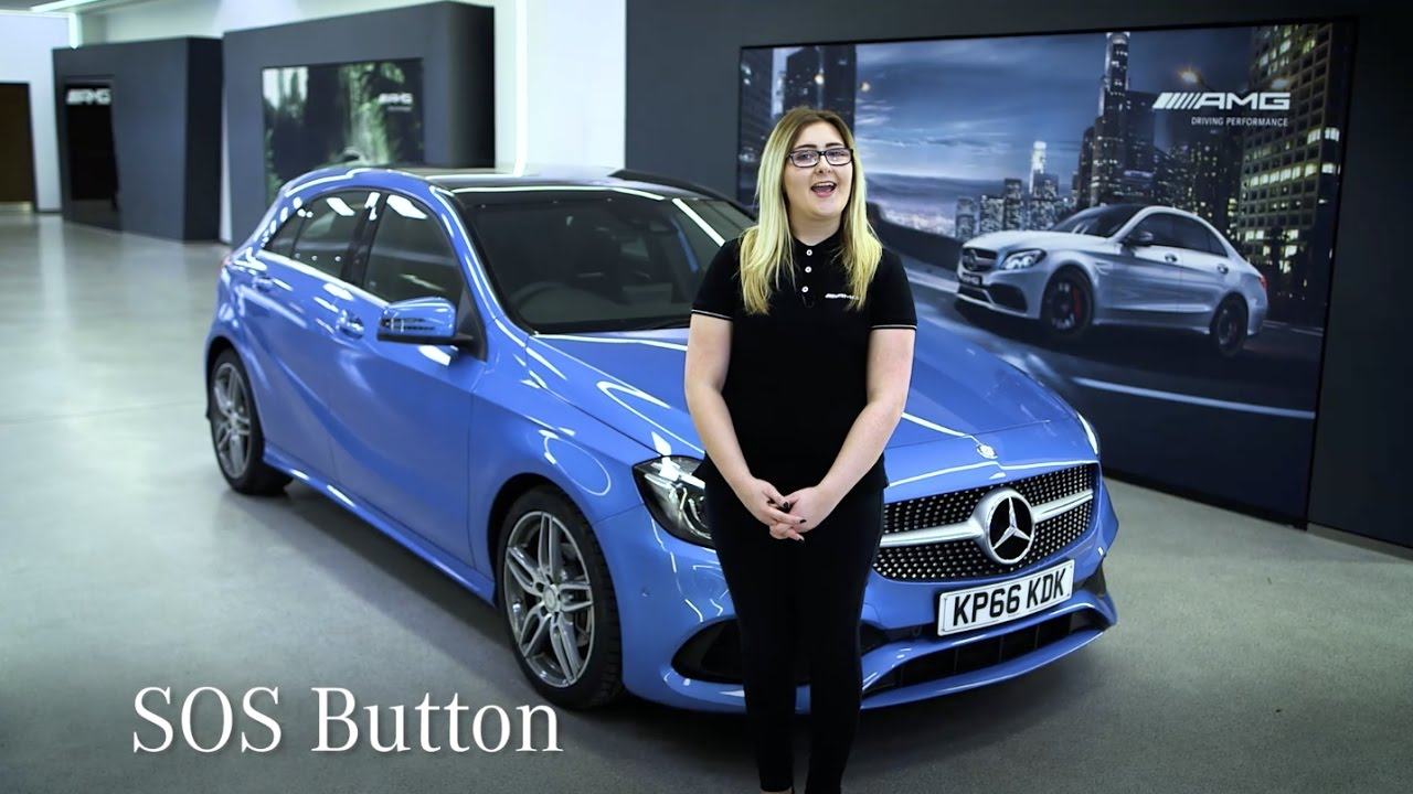 How Does The Sos Button Work Mercedes Benz Cars Uk Youtube