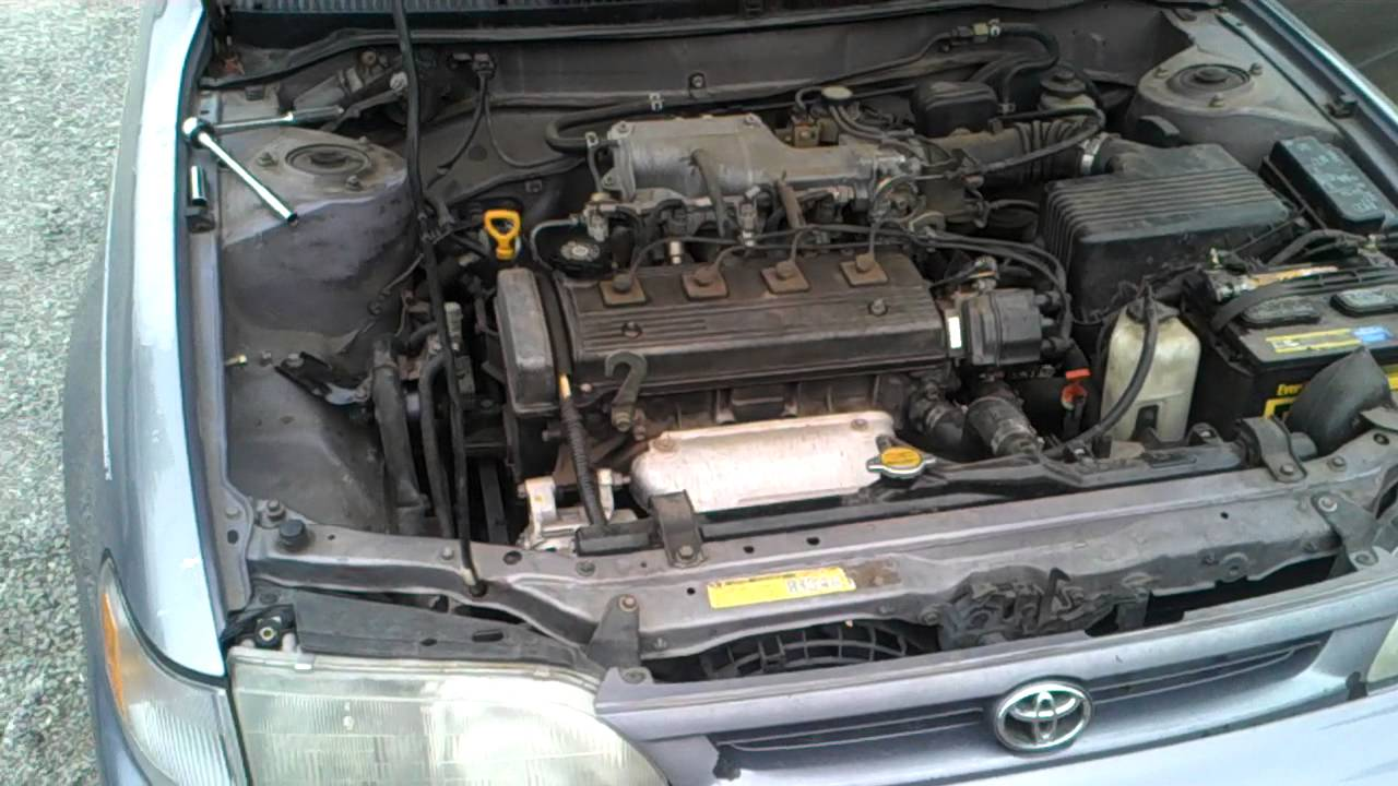 1997 Geo Prizm Engine Compartment Diagram Wiring Strategy 97 Toyota Corolla Front Motor Mount Youtube Rh Com Maf