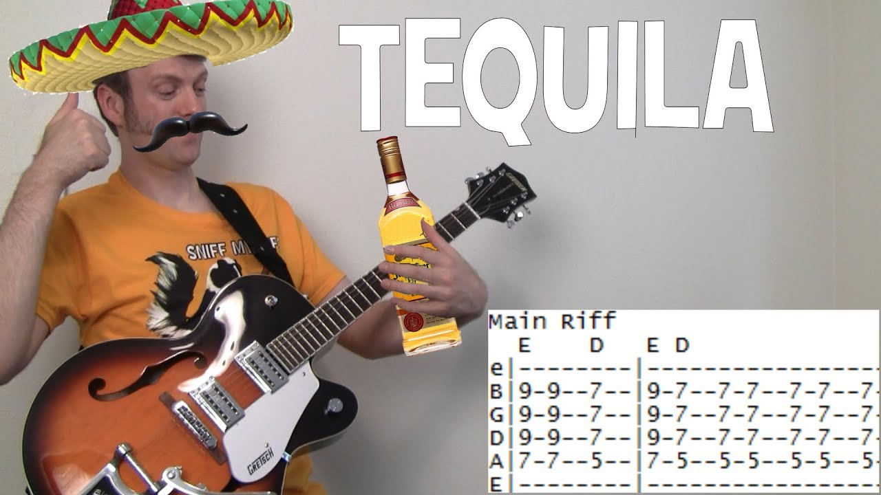 Tequila Guitar Chords Lesson By The Champs With Tab Youtube