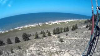 Paragliding in Holland Michigan