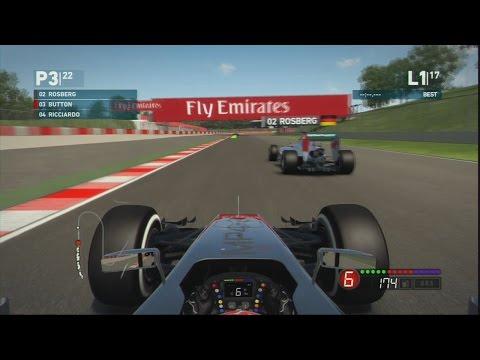 PS3 - F1 2014 - McLaren Mercedes - Jenson Button - Expert - Spanish Grand Prix - 25% Race