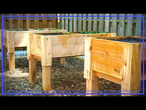 Elevated Cedar Planter Box