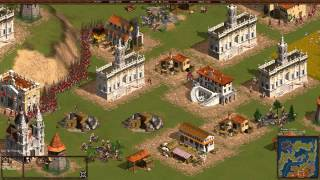 Cossacks Back to War Multiplayer - 1vs1 | Primael vs SergiuHellDragoonHQ Deathmatch [1080p/HD]