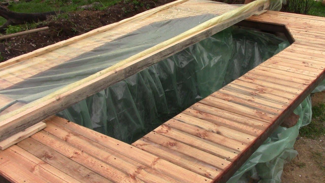 Как сделать бассейн из тента своими руками