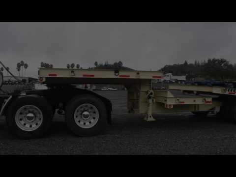 2002 Zieman Tilt Deck Trailer / Charter Trucks - U10480