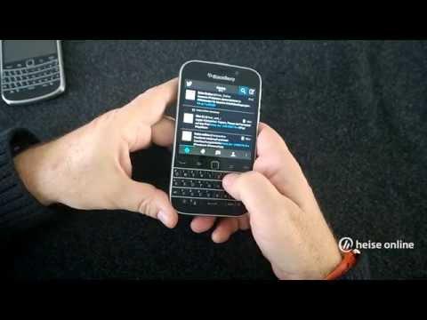 Angefasst: BlackBerry Classic