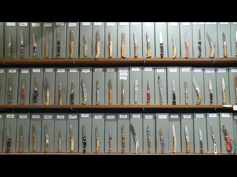 Artisanat : Thiers, la capitale de la coutellerie