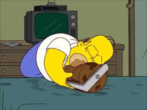 Homer loves meat