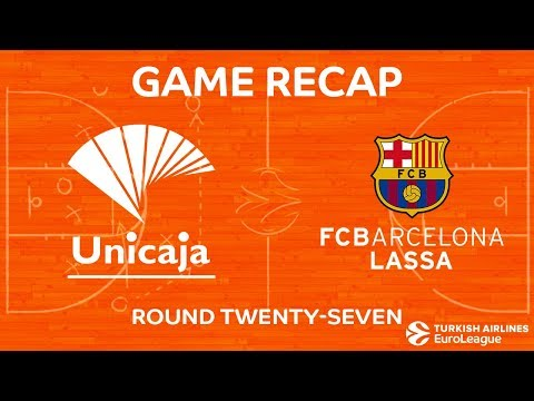 Highlights: Unicaja Malaga - FC Barcelona Lassa