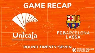 Highlights: Unicaja Malaga - FC Barcelona Lassa