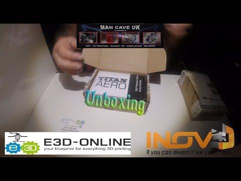 E3D-ONLINE Titan Aero Build Creality Ender 3 - Inov3D