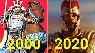 Evolution of Total War Games 2000-2019