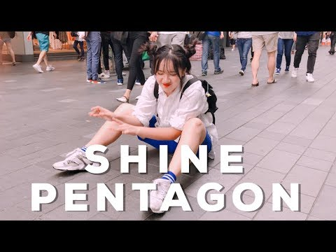 [KPOP IN PUBLIC CHALLENGE] PENTAGON(펜타곤) - SHINE (빛나리) DANCE COVER