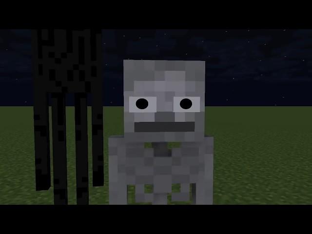 Monster School : GRANNY & GRANDPA HORROR GAME CHALLENGE - Minecraft Animation