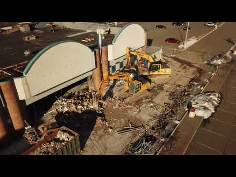 Watch This Drone Footage Of The Wayne Hills Mall Being Torn Down