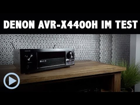 Denon AVR-X4400H Test (in German)