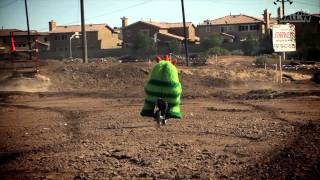 Yo Gabba Gabba Behind the Scenes - Brobee