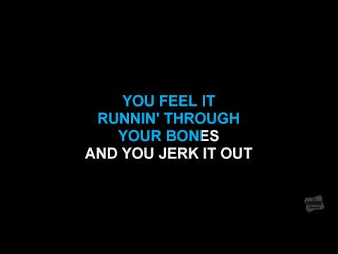 Jerk It Out in the style of Caesars karaoke track with lyrics (no lead vocal)