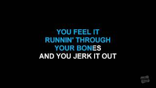 jerk it out in the style of caesars karaoke track with lyrics no lead vocal