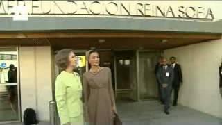 La esposa del emir de Catar acapara la  atención de los medios en su visita a España