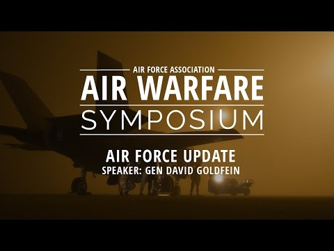 2017 Air Warfare Symposium, Air Force Update - CSAF General David Goldfein