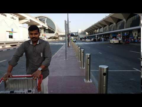 Dubai Airport Terminal-1 HD Video.