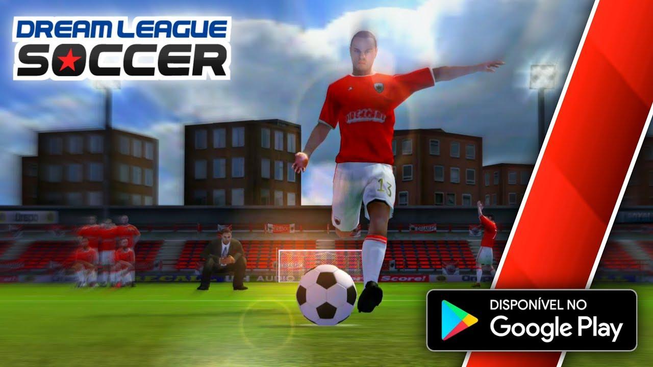Dream League Soccer 2015 - Baixei da Google Play - Jogando CARREIRA! #Nostalgia #DLS15