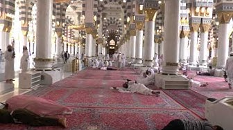 Madinah - Masjid Nabawi Interior