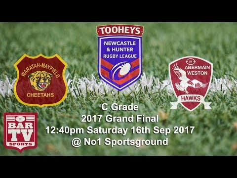 2017 Newcastle & Hunter Rugby League - C Grade Grand Final -