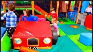 Indoor Playground Fun with Slides for Children * Kids Song