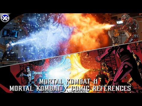 Mortal Kombat 11 - MKX Comics References