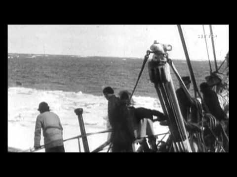 Roald Amundsen en 1905, ouvrant le passage du Nord Ouest