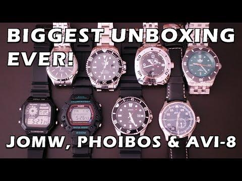 Super Unboxing! Casios, Tevise, Vostok, Seiko, Phoibos & AVI-8 - Perth WAtch Suppl #17