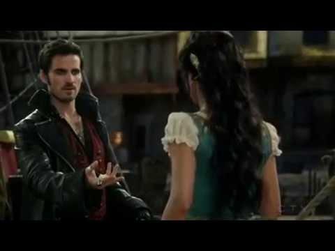 Hook & Ursula Flashback 4x16 Once Upon A Time