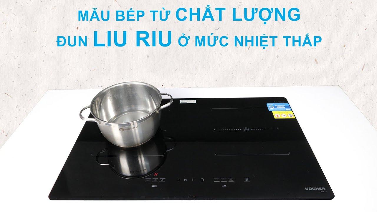Đánh giá bếp từ Kocher DI-633 giá rẻ mà vẫn có inverter