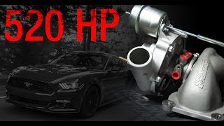 PTE / Turbonetics EcoBoost Ford Mustang Performance Upgrade Turbocharger