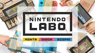 Nintendo Labo: l'annuncio commentato in italiano da Francesco e Alessandro
