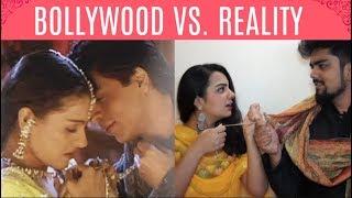 BOLLYWOOD VS. REALITY (Part 1- Romantic) | YIPP...
