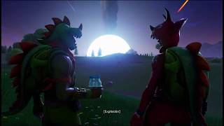 Fortnite ? Cinematic season 4: Meteorite Fall + Battle Pass with Superheroes Spanish