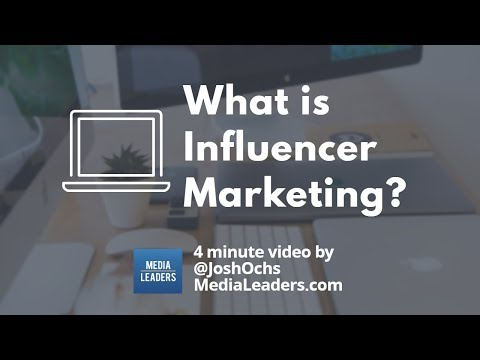 What is Influencer Marketing? (Marketing Guide)