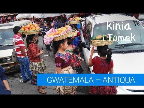 Gwatemala, Antigua - najbardziej romantyczne miasto na świecie.
