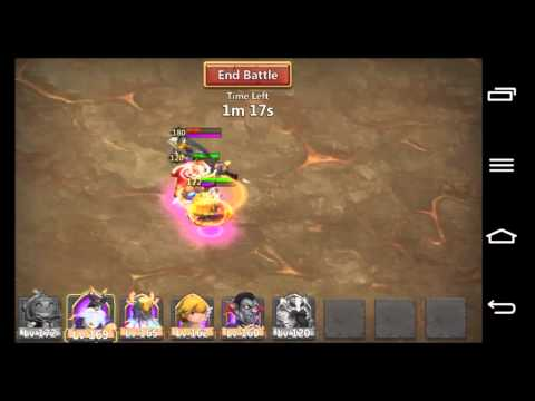 Castle Clash! TWO HEROES STUN-LOCK In TIER 3!