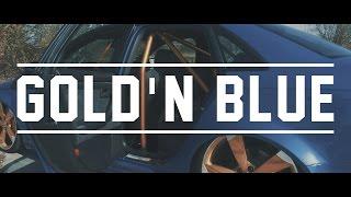 gold n blue   audi a4 b7 dtm edition