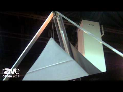 CEDIA 2014: Specialized Shading Systems Demos Bottom-Up, Top-Down Triangular Shades Using Lutron